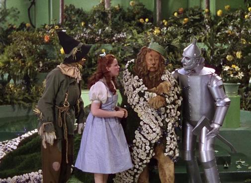 Un fotograma de 'El Mago de Oz'