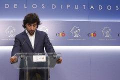 Toni Roldán anuncia su dimisión en el Congreso