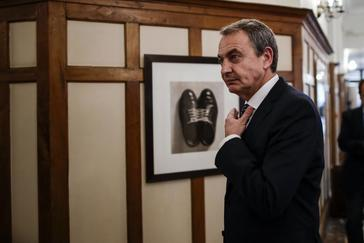 El ex presidente del Gobierno, José Luis Zapatero