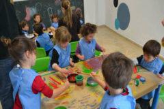 Niños en una escuela infantil de la provincia de Castellón.