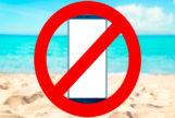 Por qué no deberías llevarte el móvil a la playa