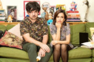 Borja y Natalia, los Prieto Flores, autores de  '¡No sólo somos padres!'.