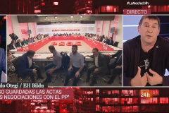 Madrid. 26.06.2019. RTVE entrevista a Arnaldo <HIT>Otegi</HIT>. La noche 24 h
