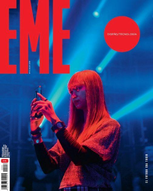Portada del sexto número de la revista EME.
