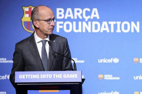El vicepresidente del Barcelona, Jordi Cardoner