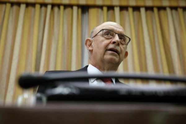 El ex ministro de Hacienda Cristóbal Montoro.