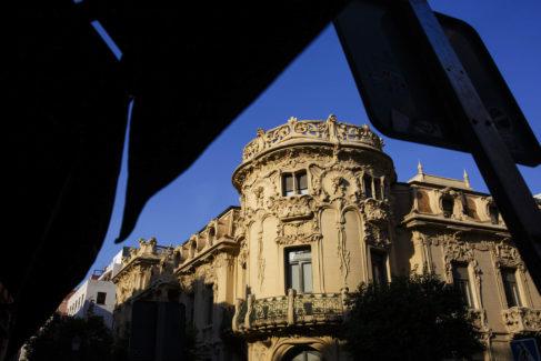 Sede central de la SGAE, en Madrid.
