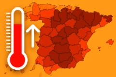 La ola de calor llega a la Comunidad con máximas de hasta 37 grados