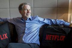 Reed Hastings, CEO y cofundador de Netflix.
