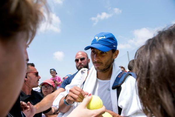 GRAF1673. CALVIÁ (MALLORCA).- El tenista español Rafael...