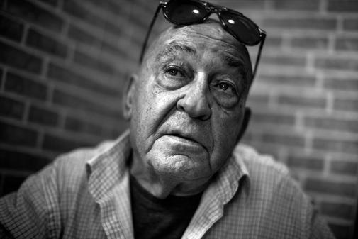 José Huertas, 73 años, en Madrid.