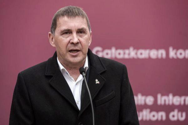 El líder EH Bildu, Arnaldo Otegi.