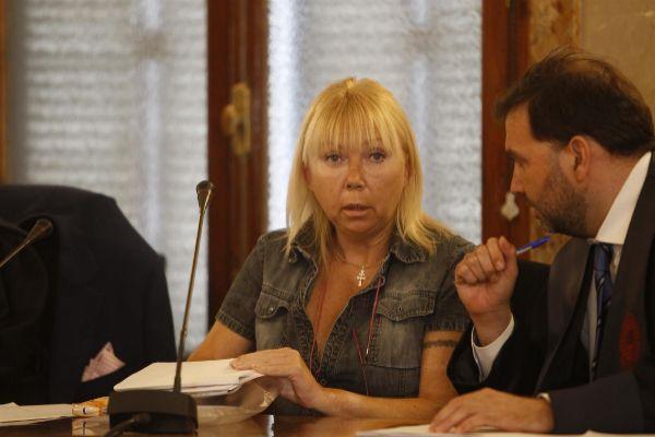 La mujer rusa acusada de asesinar a su marido en 2016 en Cala Millor durante el juicio