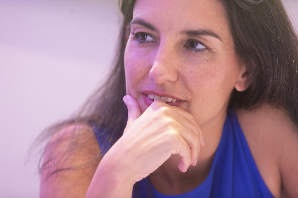 Rocío Monasterio, durante la entrevista con EL MUNDO.