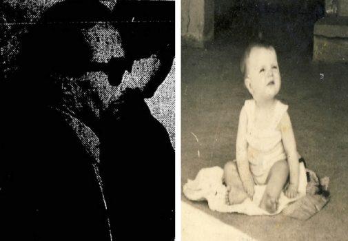 A la izquierda, el terrorista Pepe Muley durante su estancia en Brasil. A la derecha, Begoña Urroz, el bebé que murió en un atentado en 1960.