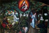 Detalle de 'Alegoría de la Inmaculada Concepción'.