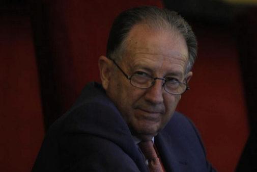 Félix Sanz Roldán, en un acto en el año 2010