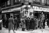 La Mallorquina en la plaza de Sol de Madrid en 1936