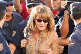 Isabel García Marcos durante la primera jornada del juicio por el 'caso Malaya' el 27 de septiembre de 2006