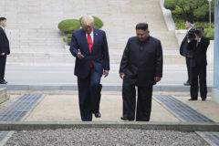 """Trump, el primer presidente de EEUU en pisar suelo norcoreano: """"Es un gran día para el mundo"""""""