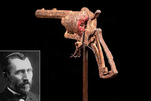 El revólver de 162.495 euros que 'mató' a Van Gogh