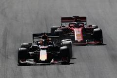 Verstappen, por delante de Leclerc en Spielberg.