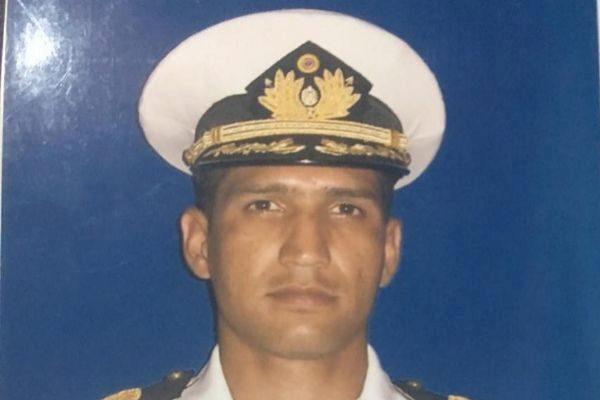Imagen del capitán Rafael Acosta, torturado y asesinado por el régimen de Maduro.