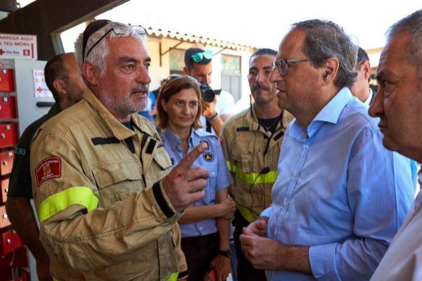 GRAF6641. VINEBRE (TARRAGONA).- El presidente de la Generalitat, Quim...