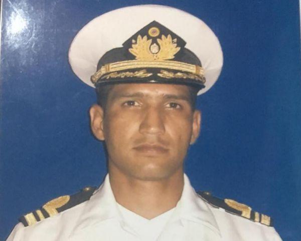 El capitán Rafael Acosta Arévalo, quien falleció con signos de tortura.