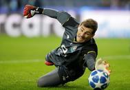 Casillas, durante un partido de la pasada Champions.