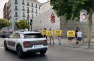 Piquetes informativos este lunes en Puerta de Toledo.