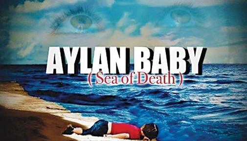 Un cartel de 'Aylan baby'.