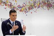 Pedro Sánchez, el sábado en la cumbre del G-20 en Osaka.