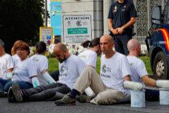 Protesta de Greenpeace.