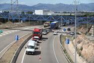 Tramo de la autovía de la Plana en la provincia de Castellón.