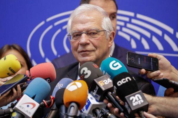 El ministro de Exteriores en funciones, Josep Borrell.