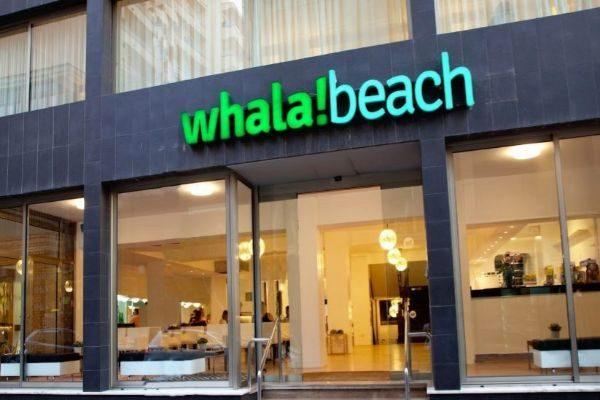 Whala! Beach, el hotel en El Arenal en Mallorca desalojado por un incendio.