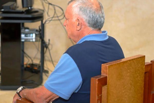 El empresario acusado de abusos sexuales, Miguel Pascual, ayer, en el juicio.