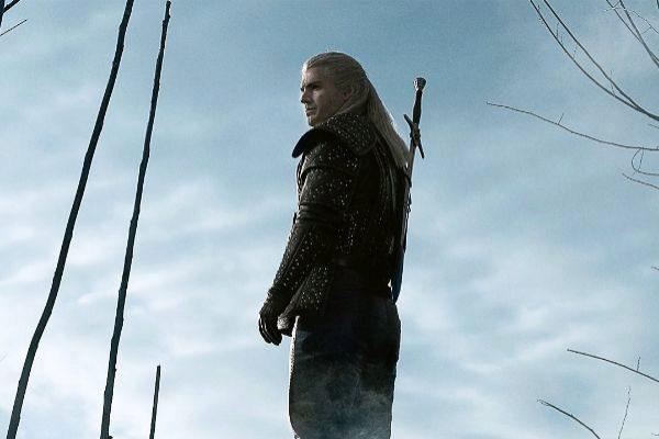 Geralt de Rivia (Henry Cavill) en la serie The Witcher de Netflix, que ha generado multitud de memes