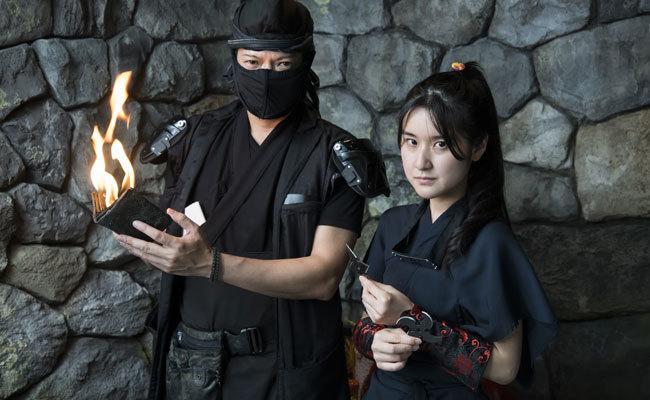 Lo último en Japón: comer en un restaurante ninja