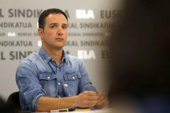 Mikel Lakuntza, secretario general de ELA.