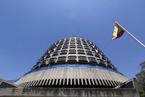La fachada del Tribunal Constitucional.