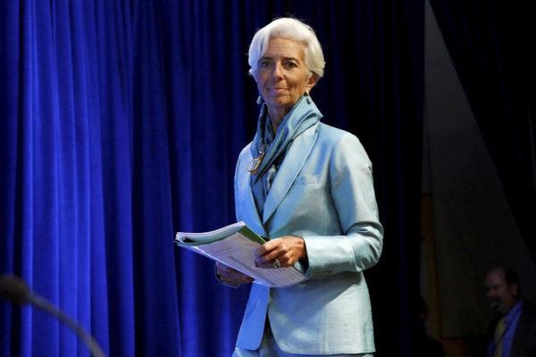 International Monetary Fund (IMF) Managing Director Christine Lagarde...