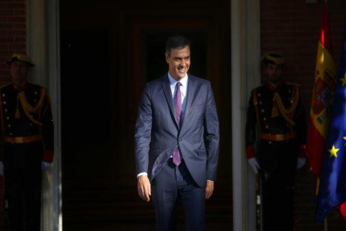 Pedro Sánchez, presidente del Gobierno en funciones y aspirante a la reelección en el pleno de investidura.