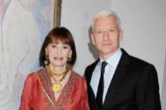 Gloria Vanderbilt y su hijo pequeño, el reconocido periodista de la CNN, Anderson Cooper, al que ha dejado todo su legado.