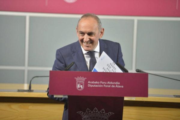 Ramiro González, candidato a diputado general de Álava por el PNV