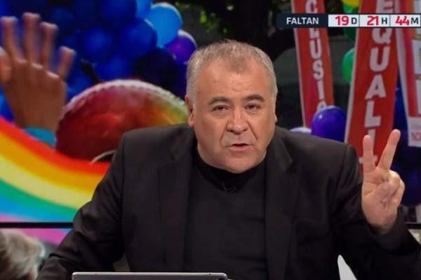 Antonio García Ferreras en Al Rojo Vivo en La Sexta, donde habló...