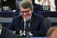 David-Maria Sassoli, nuevo presidente del Parlamento Europeo.