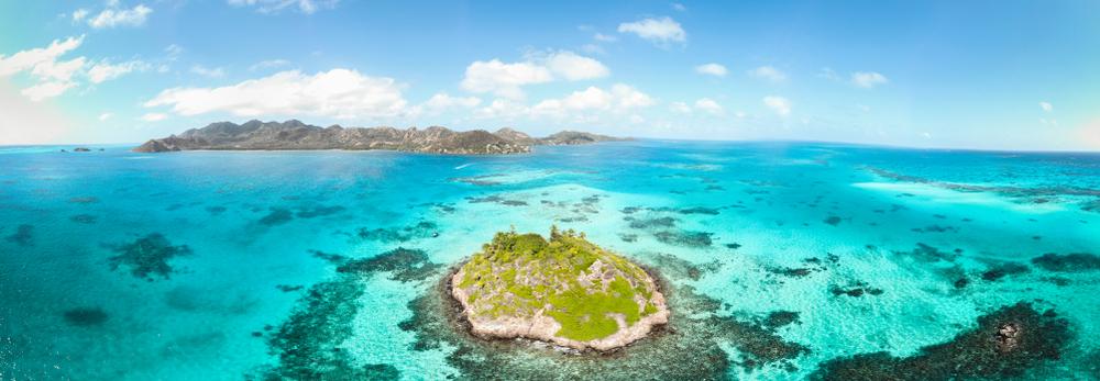 El mar de los siete colores de esta isla caribeña quita el aliento:...