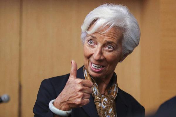 Christine <HIT>Lagarde</HIT>, directora gerente del FMI y próxima...